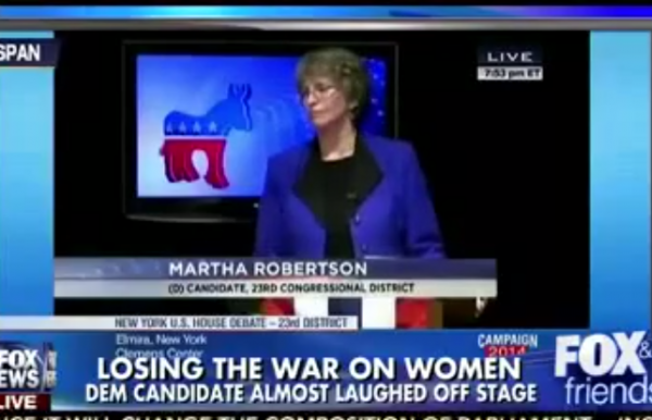 Martha Robertson War on Women Fox and Friends