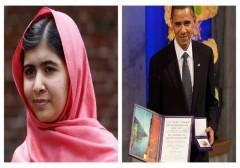 Nobel Peace Prize Malala Yousafzai Barack Obama
