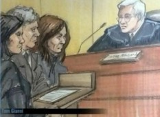 (Rasmea Odeh appearing before Judge Paul D. Borman)