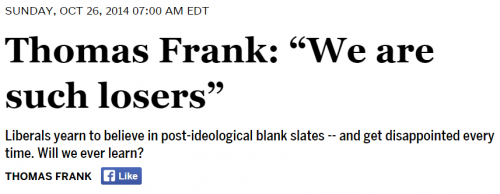 Salon Thomas Frank We Are Such Losers