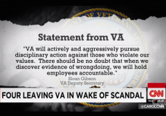 VA scandal quote fired