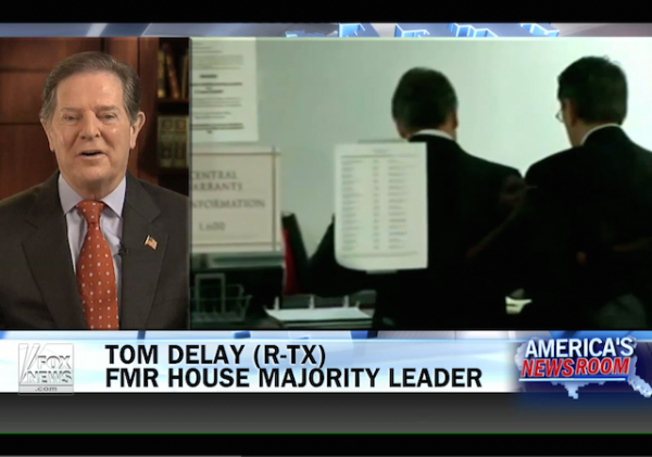 tom delay fox news