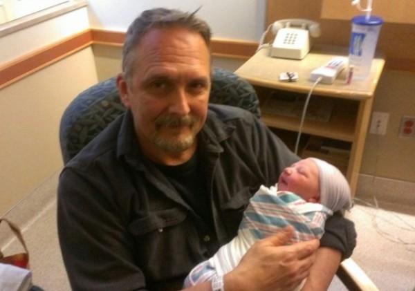 AF Branco and infant daughter Amelia Rose