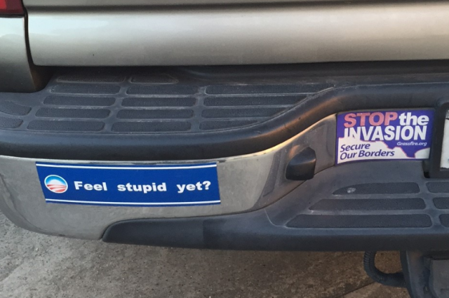 Bumper Sticker - Houston TX - Feel Stupid Yet