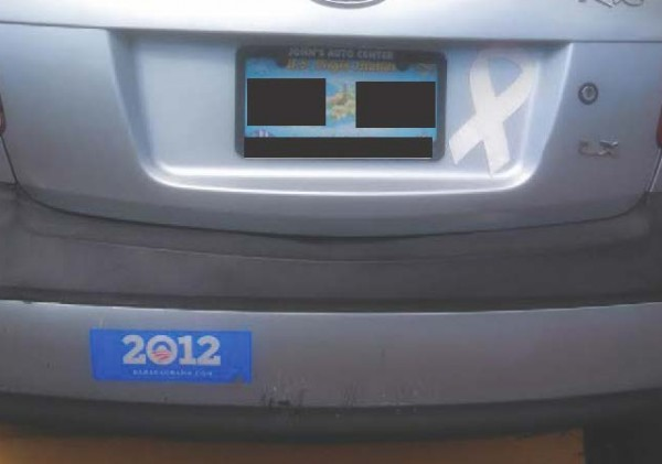 Bumper Sticker - St. Thomas - Obama 2012