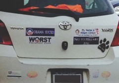 Bumper Stickers - Westchester - Obama Sucks