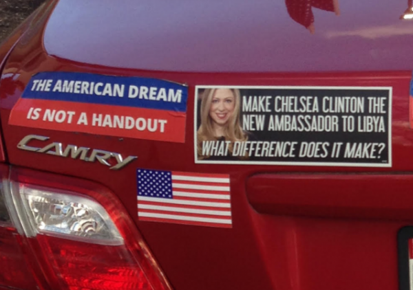 Bumper Stickers - Wheaton MD - American Dream Not A Handout