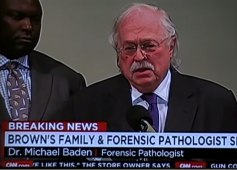 Dr. Michael Baden #Ferguson