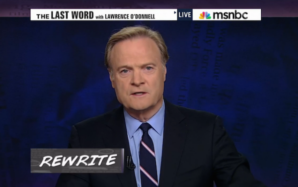 Ferguson Lawrence O'Donnell MSNBC