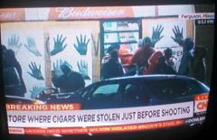 Ferguson Looting Store Where Cigars Stolen
