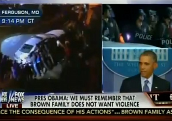 Ferguson Obama