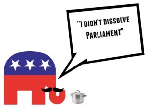 I didn't dissolve parliament obama