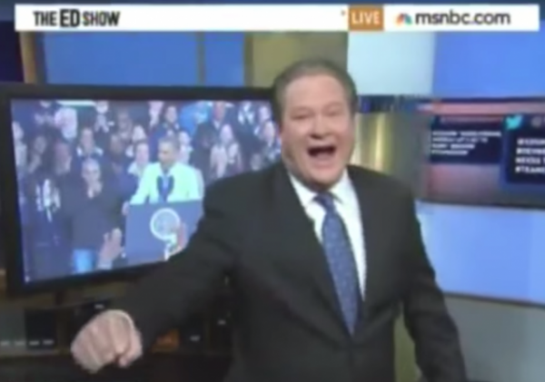 MSNBC Lean over Ed Schultz Mashup