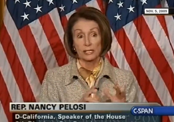 Nancy Pelosi on Gruber