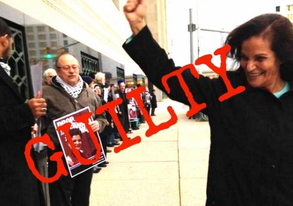 Rasmea Odeh Guilty