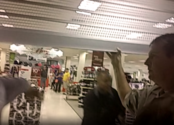 South County Mall Ferguson Protest Bassem Masri Video Sears Gates Closed