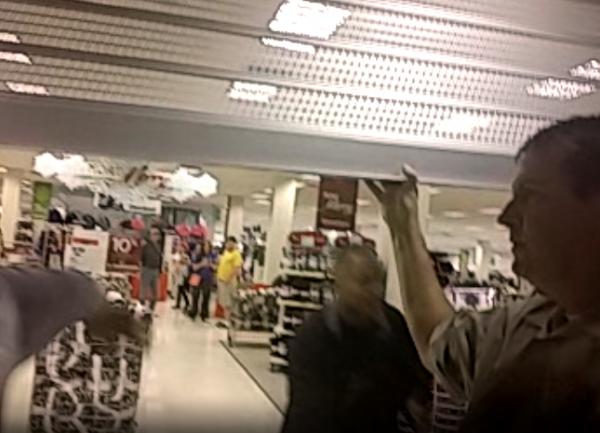 South County Mall Ferguson Protest Bassem Masri Video Sears Gates Closed