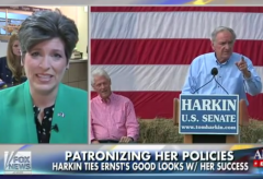 Tom Harkins Taylor Swift Joni Ernst Iowa Senate