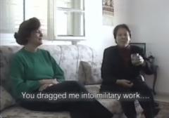Women in Struggle Rasmieh Odeh You dragged me towards military work
