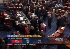 senate rejects keystone XL