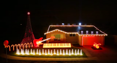7 awesome christmas light displays star wars let it go