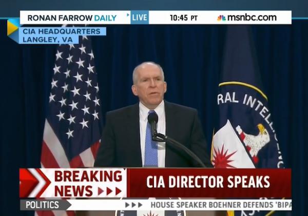 CIA brennan presser