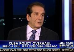 Charles Krauthammer on Cuba