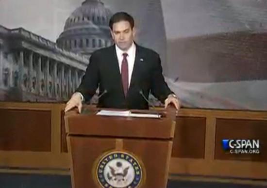 Marco Rubio New Conference Cuba Normalization