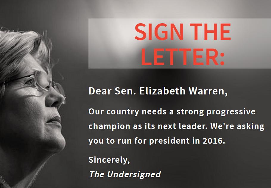 Ready For Warren Letter Run