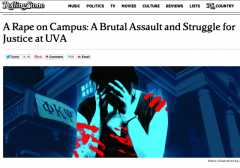 Rolling Stone UVA Frat Allegations Rape Crumble Misreporting Media Bias