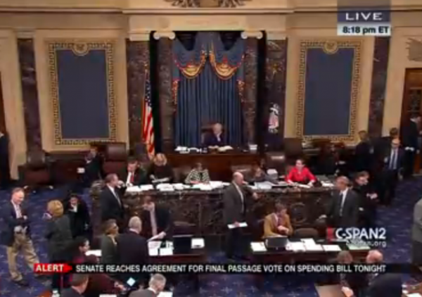 Senate Vote CRomnibus