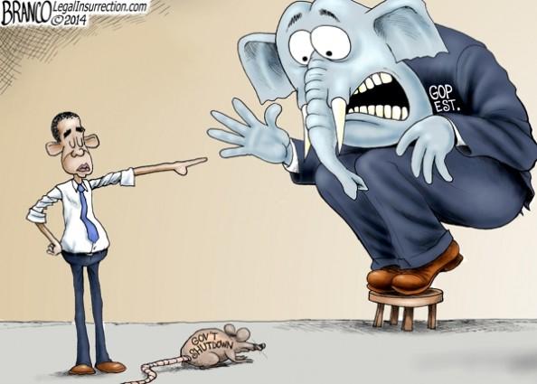 GOP Government Shutdown