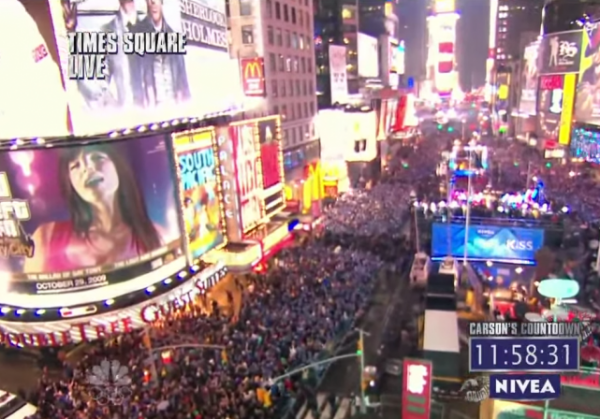 Times Square Ball Drop 2015 Live Feed Lives Stream Webcast