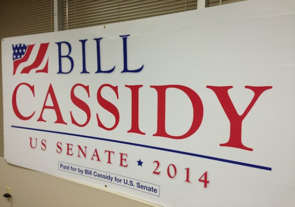 bill cassidy field sign