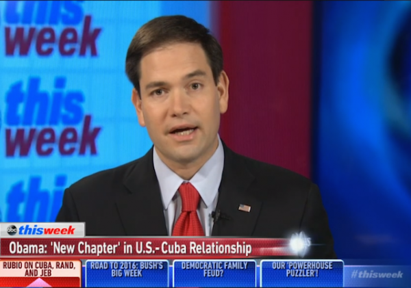 marco rubio ABC this week