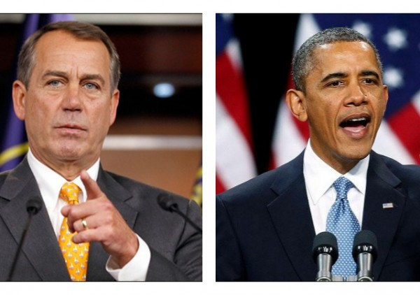 obama boehner government shutdown