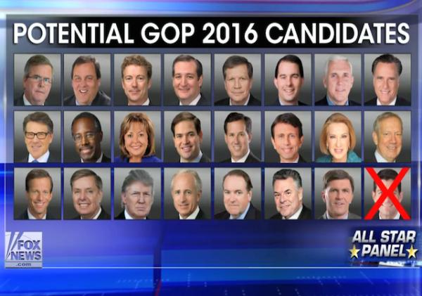 2016 contenders