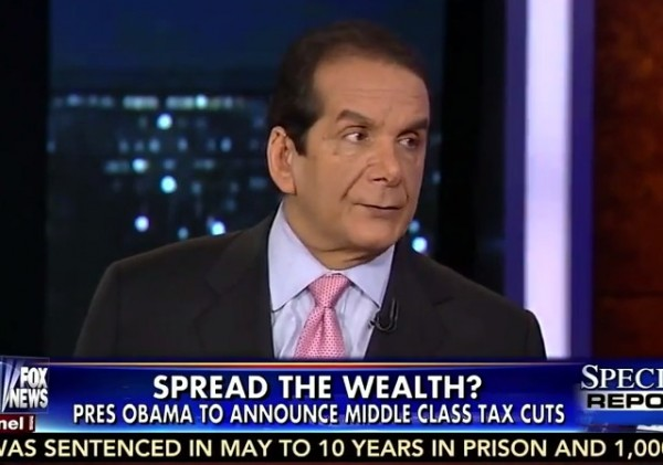 Charles Krauthammer taxes
