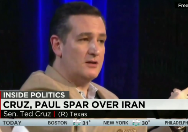 Cruz v Paul on Iran