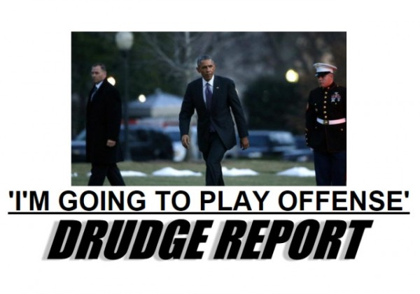 Drudge Obama Offense