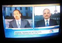 Eric Holder Meet the Press Paris 2