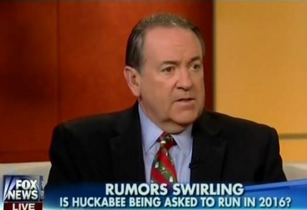 Mike Huckabee Fox Rumors Running 2016