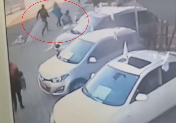 Palestinian knife attack bus woman highlighted
