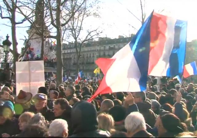 Paris National Unity Rally