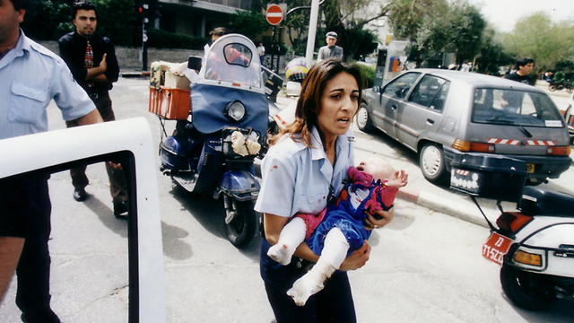 Shani Winter, rescued in the 1997 suicide attack. (Photo credit: Michael Kremer)
