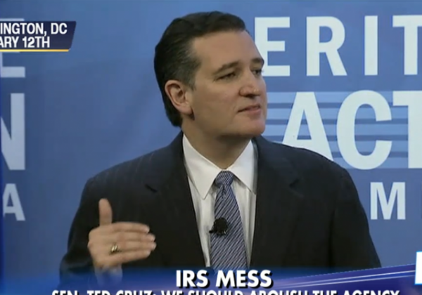 Ted Cruz's simple plan for tax reform  abolish the IRS