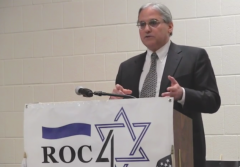 William A. Jacobson Cornell Israel BDS Boycott Speech Roc4Israel
