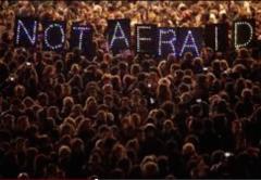 charlie hebdo rally not afraid