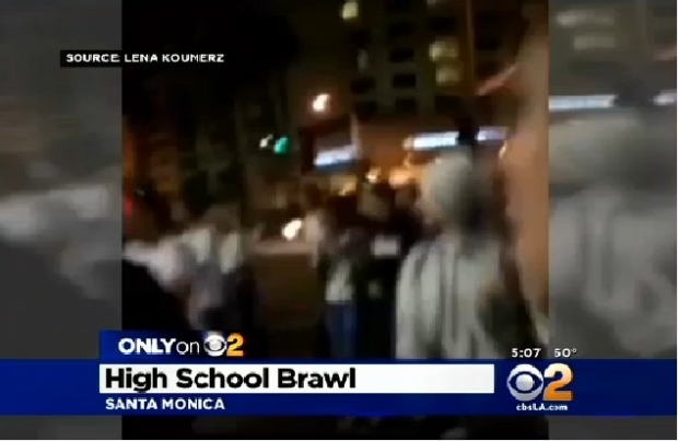 http://losangeles.cbslocal.com/2015/02/07/only-on-2-video-emerges-of-nasty-brawl-between-rival-high-schools/