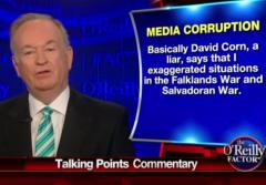 Bill O'Reilly David Corn Brian Williams Media Corruption Hit Job